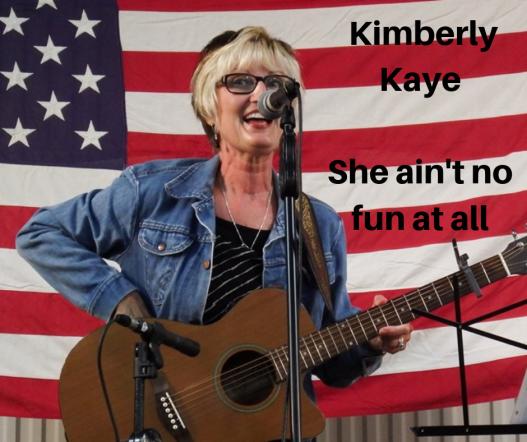 Kimberly Kaye She ain't no fun at all